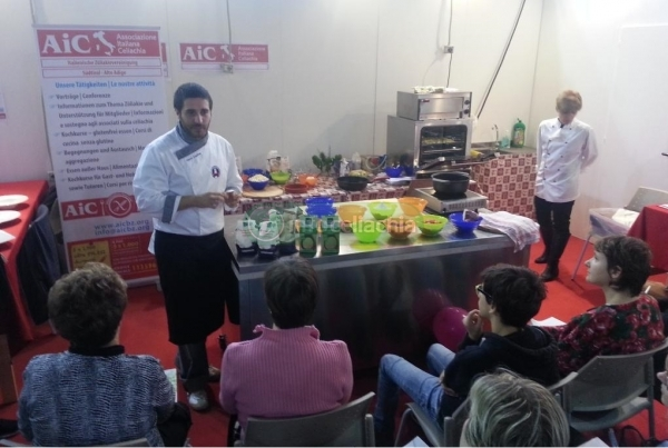 Celiachia e street food senza glutine al Nutrisan di Bolzano