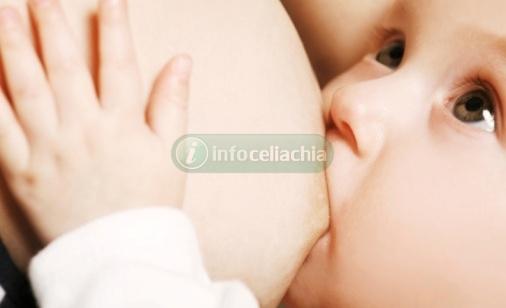 La celiachia si previene con l'allattamento al seno